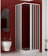 Box doccia angolare PVC cabina soffietto acrilico