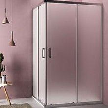 Box doccia angolare quadrato 90x90 modello Loop
