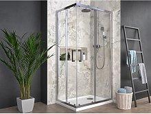 Box doccia angolare quadrato rettangolare profilo