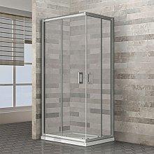 Box doccia angolare rettangolare 70x90 cm in