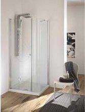 Box doccia angolare varie dimensioni con ante