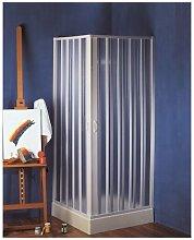 Box doccia angolo due lati a soffietto in pvc FREE
