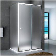 Box doccia anta scorrevole e laterale fisso