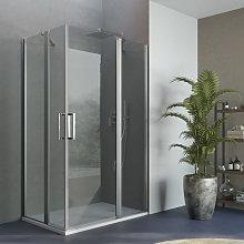 Box doccia apertura battente angolare reversibile
