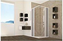 Box doccia apertura centrale a pacchetto pvc