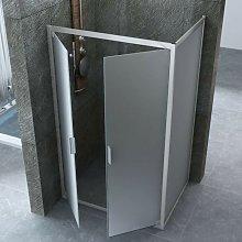 Box doccia apertura saloon cristallo opaco 6mm |