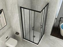 Box Doccia Cristallo 6 mm trasparente apertura