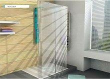 Box doccia cristallo curvo trasparente >