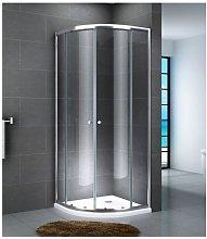 Box doccia curvo scorrevole in cristallo 6mm