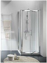 Box doccia due lati a battente con lato fisso