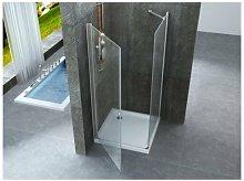 Box doccia due lati anta battente e lato fisso