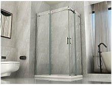 Box doccia due lati scorrevole 8mm trasparente