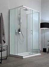 Box doccia ECO con lato fisso in cristallo 6 mm