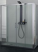 Box doccia FPSC57 in cristallo 6 mm. trasparente