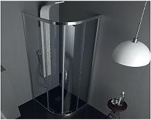 Box doccia FS40 in cristallo 6 mm. satinato cm.