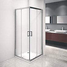 Box doccia Iconic cm 70x70 con apertura scorrevole