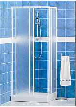 Box doccia in acrilico Elba quadrato scorrevole
