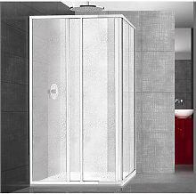 Box doccia in acrilico Smeralda quadrato