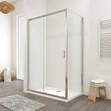 Box doccia LISBONA porta scorrevole rettangolare