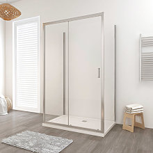 Box doccia LISBONA porta scorrevole rettangolare 3