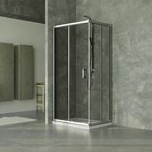 Box Doccia Mm. 5 Dimensioni 70x70x185 cm Vetro