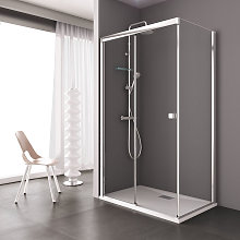 Box doccia MOSCA porta scorrevole rettangolare