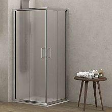Box doccia opaco 90x90 altezza 180cm modello k410