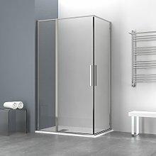 Box doccia OSLO doppia porta battente rettangolare