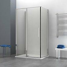 Box doccia OSLO porta battente con fissetto 3 lati