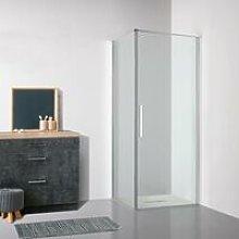 Box doccia OSLO porta battente rettangolare 90x70