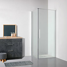 Box doccia OSLO porta battente rettangolare 90x75