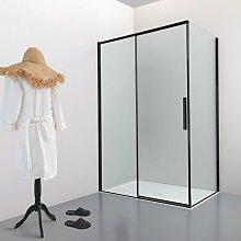Box doccia OSLO porta scorrevole rettangolare