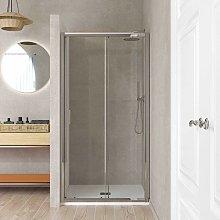 Box doccia per nicchia porta scorrevole cristallo