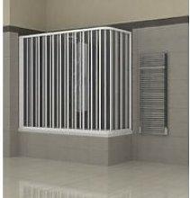 Box doccia per Vasca a Soffietto in PVC Angolare 2