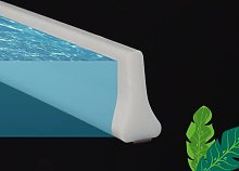 Box doccia per vasca da bagno con protezione