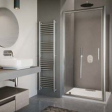 Box doccia porta a battente ad angolo cm 70