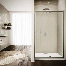 Box doccia porta a battente cm 100 cristallo