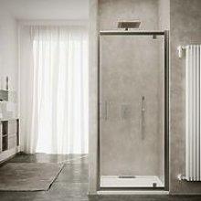Box doccia porta a battente cm 70 cristallo