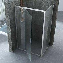 Box doccia porta battente dentro fuori 6mm | jade,