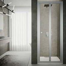 Box doccia porta pieghevole cm 70 cristallo