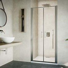 Box doccia porta saloon cm 80 cristallo temperato