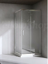 Box doccia quadrato cm 70x70x195 cristallo