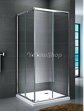 Box doccia quadrato serie Smart cm 90x90x190