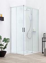 Box doccia QUICK in cristallo 6 mm trasparente