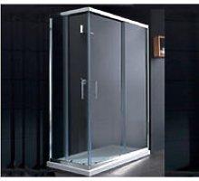 Box doccia rettangolare 70X120 Roma - Bagnoexpert