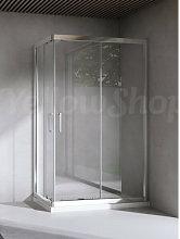 Box doccia rettangolare cm 70x100x195 cristallo