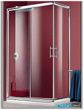 Box doccia rettangolare NARA 70x120 cm