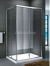 Box doccia rettangolare serie Smart cm 80x100x190