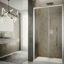 Box doccia scorrevole cm 120 cristallo temperato 6