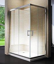 Box doccia scorrevole in cristallo 6mm trasparente
